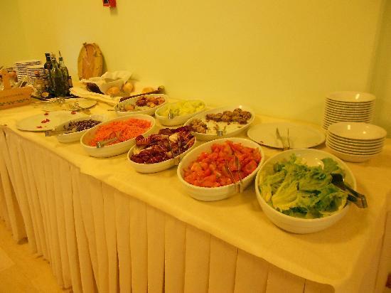 Hotel Vallechiara: Dinner buffet portion