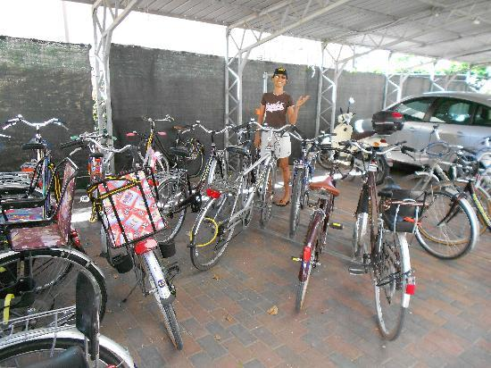 Hotel Vallechiara: Bikes