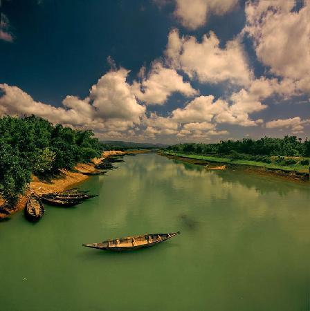 Sylhet City, Bangladesh: boat trip