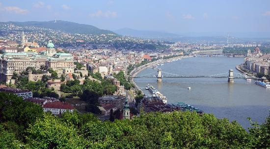 View Of The Danube Picture Of Citadel Budapest