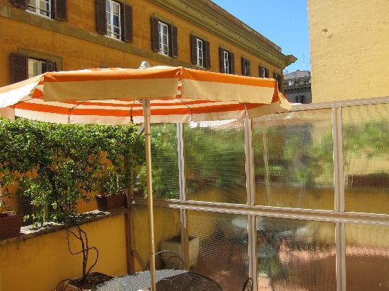 La Residenza: room terrace