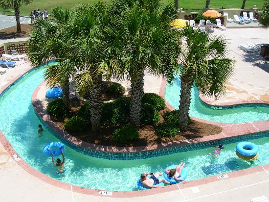 Doubletree Resort By Hilton Myrtle Beach Oceanfront Over Looking The Lazy River From My Balcony