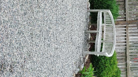 Outdoor garden at Spa Koru