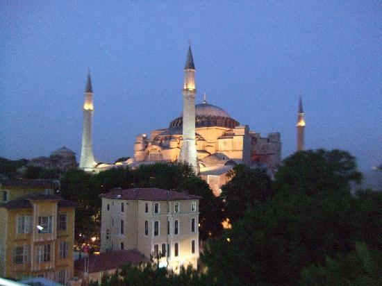 Palmiye Restaurant Istanbul : Vistas desde la terraza