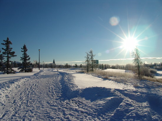 ‪‪Grande Prairie‬, كندا: Muskoseepi Park in Winter‬