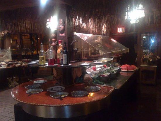 Ark Restaurant & Catering: una parte del buffet