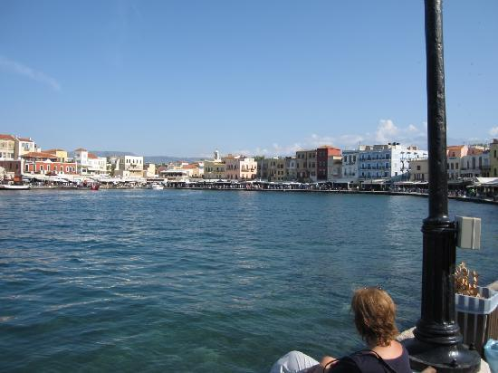 Agapi Beach Hotel: port de Chania