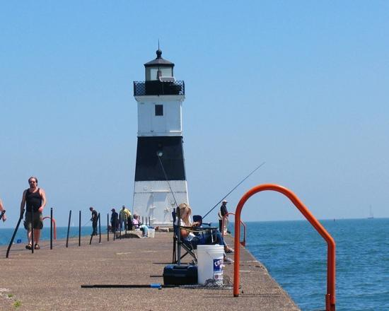 North Pier Lighthouse Picture Of Presque Isle State Park