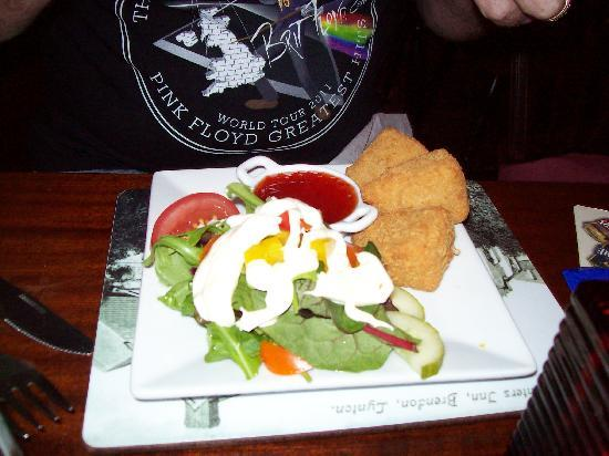 The Stag Hunters Hotel: Tasty starter