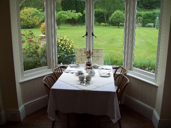 Brendon, UK: Breakfast room