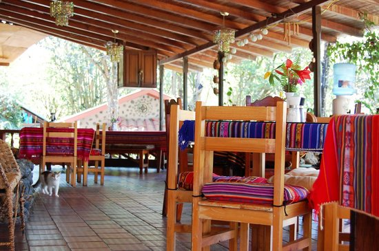 Madre Tierra Resort & Spa: The dining area