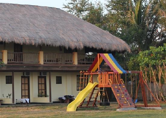 Lingayen, Filippinerna: mini playground