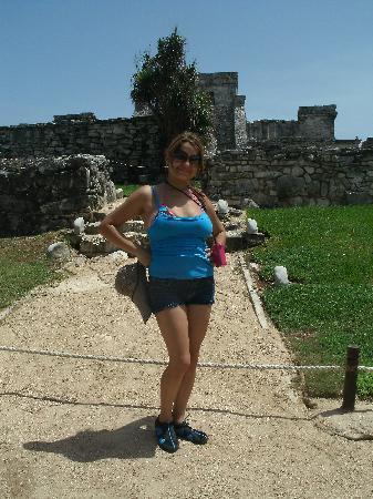 Ruinas Mayas de Tulum: Yo