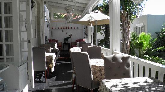 Blackheath Lodge : Veranda for breakfast, tea or cocktails