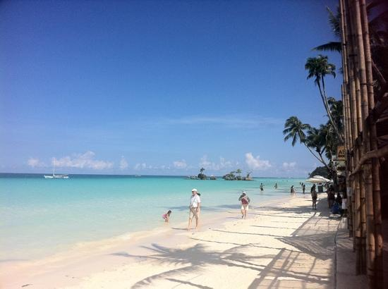 view from ariel s bar picture of boracay beach club