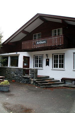 Arthurs Chalet: Front of the Chalet