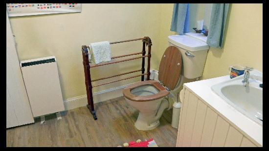 Oystercatcher Bed & Breakfast : The other side of the toilette.