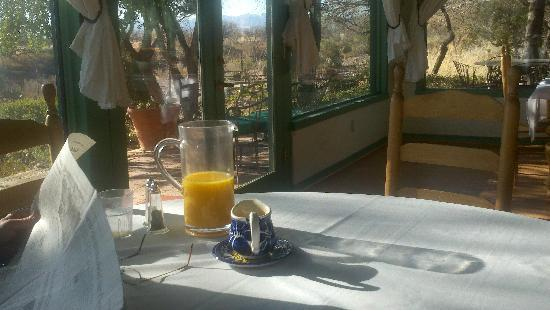 Amado Territory B&B: Delightful Breakfast Room