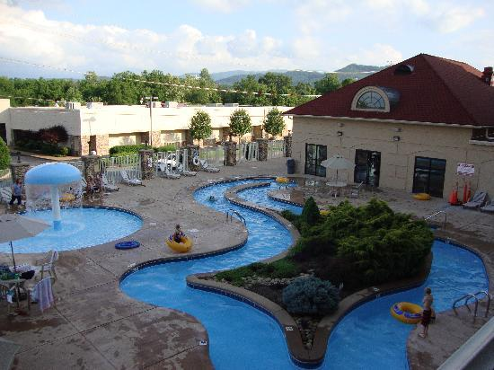 Music Road Resort Inn: View of Lazy River