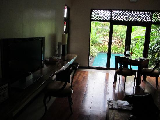 The Pavilions Bali: The Villa Interior