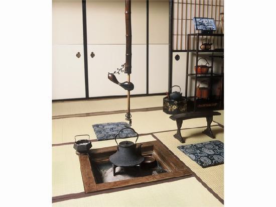 Sumiyoshi Ryokan: 囲炉裏