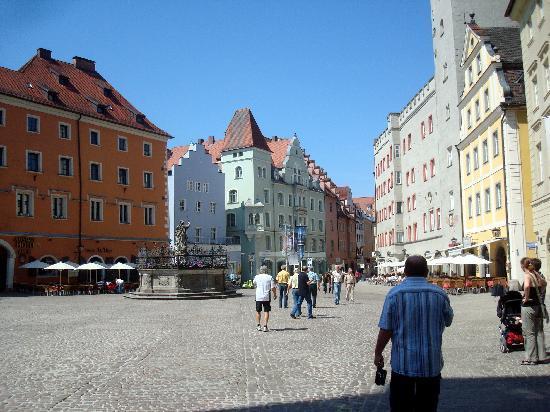 เรเกนสบูร์ก, เยอรมนี: Regensburg.