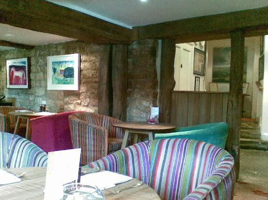 Beeley, UK: Tasteful decor - this is NOT the dining room