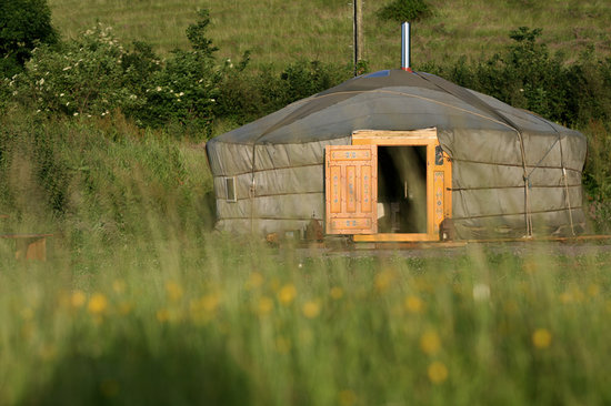 Blackdown Yurts - Yurt Holidays in Devon