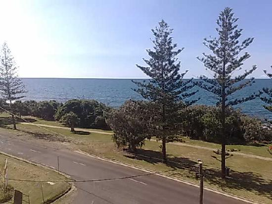 Bargara, Australia: View from our balcony