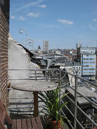 Aviation19 Bed & Breakfast: Balkon