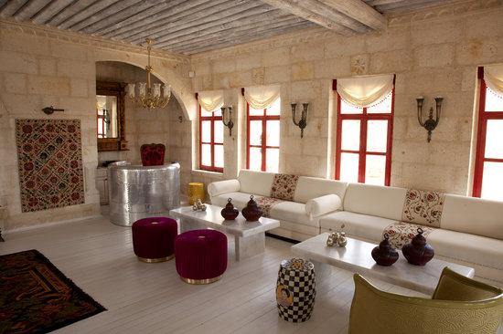 Hezen Cave Hotel : Lobby & Reception area