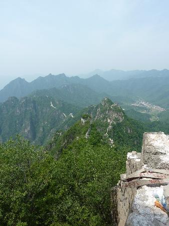 Great Wall Hiking : view from wall