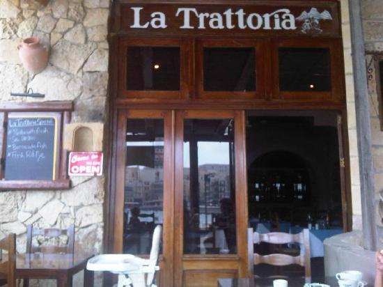 La Trattoria Restaurant: ingresso