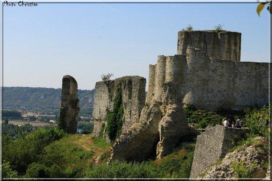 L AUBERGE DES PECHEURS: Les Andelys, Chateau Gaillard