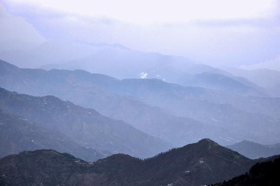 Aamod at Dalhousie: View from Aamod