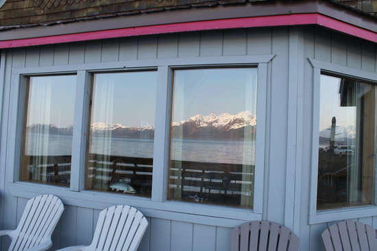 Alaska Saltwater Lodge: Great view