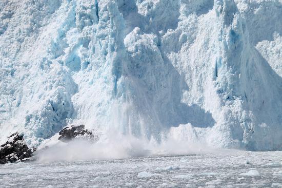 Seward, AK: glacier
