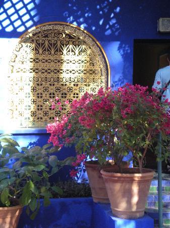 Riad RabahSadia: pas très loin du jardin de Majorelle, que je vous recommande.