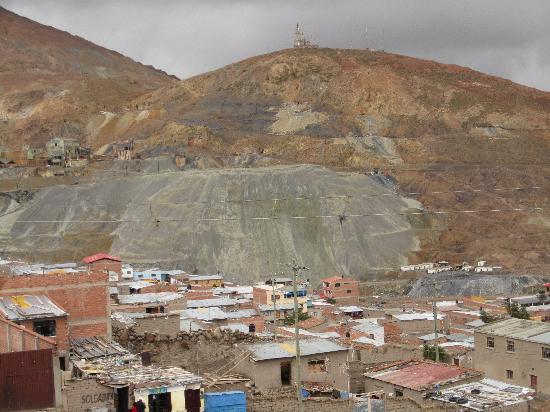 Blick auf den Cerro Rico