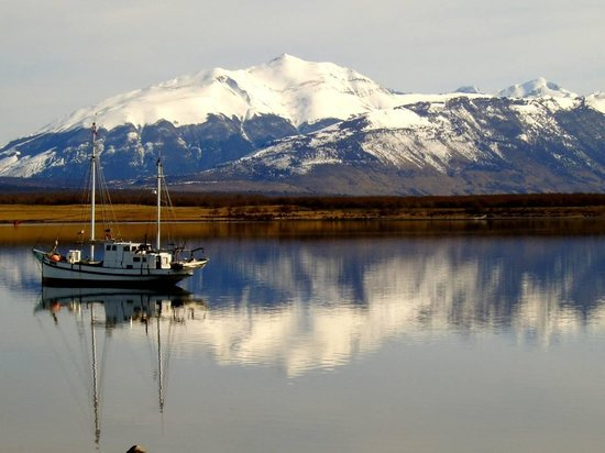 Aisen Region, Chile: Bahía de Puerto Natales, Chile