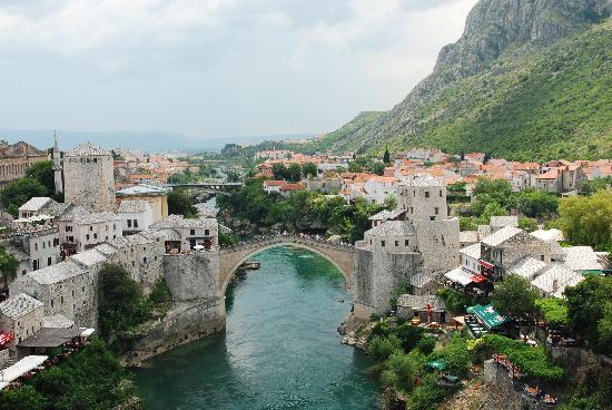 Hasil carian imej untuk Old Bridge Area of the Old City of Mostar