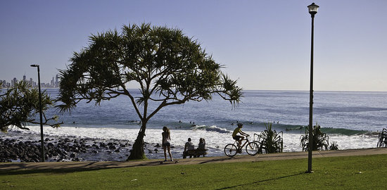 Burleigh Heads, Αυστραλία: provided by: Burleigh Tourism