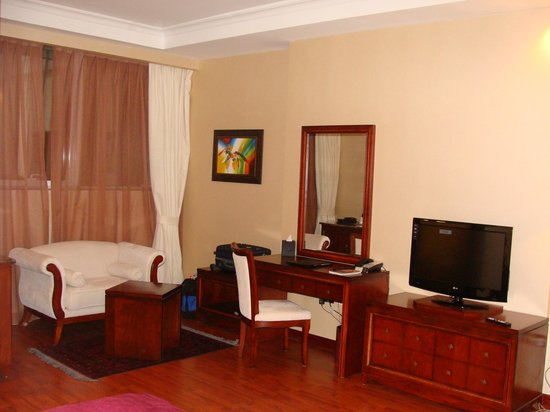 Trianon Hotel: King size rooms with all amenities