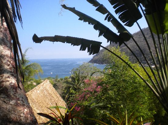 Casas de los Suenos: Morning view from Corona del Sol