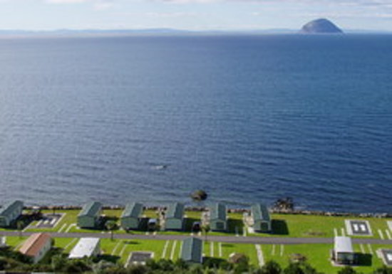 Girvan, UK: Bennane Shore Holiday Park