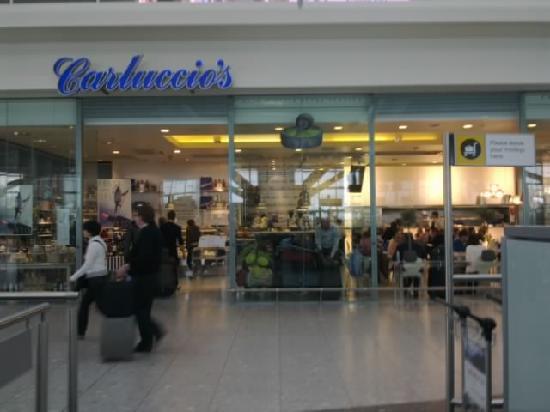 Carluccio S Restaurant Heathrow Airport