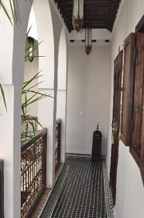 Riad Aguaviva: Pasillo habitaciones