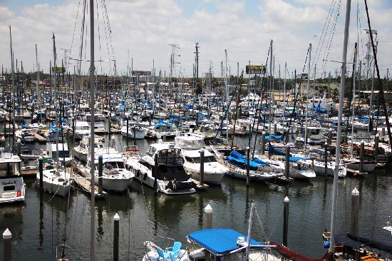 Kemah Boardwalk: Yacht yard