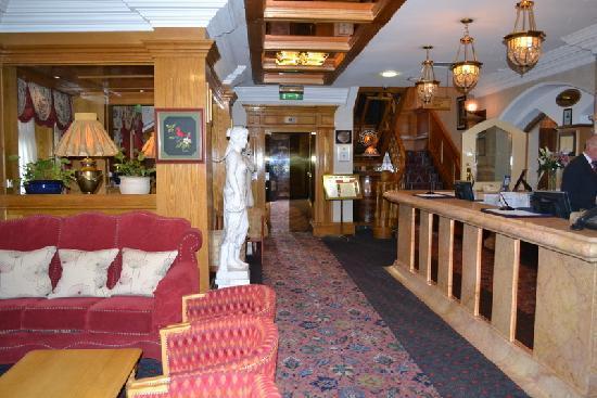 Park House Hotel: lobby of hotel