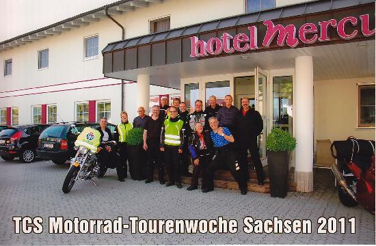 Mercure Hotel Ingolstadt: TCS-Motorradgruppe beider Basel / Schweiz